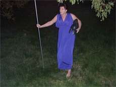 Me in my quasi-peplos at a public pagan gathering last year...