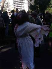 The 2010 Zombie Shuffle was a bit of a letdown... I was pissed off another undead Christ was there.
