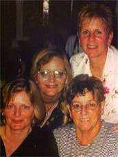 Myself and my sisters and my Mum