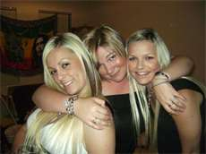 me, my sis and best mate :)